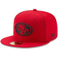 Men's New Era Scarlet San Francisco Omaha Hat, Size: 7 Red 49ers Helmet, Dope Hats, 59fifty Hats, Nfl Shop, Team Gear, New Era Hats, Red Bandana, Hats Online, Snapback Hats