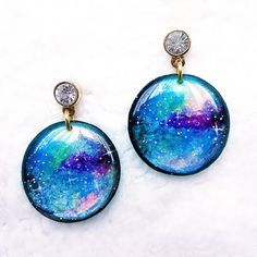 Hey, I found this really awesome Etsy listing at https://www.etsy.com/listing/228920428/earrings-handmade-blue-circle-earrings