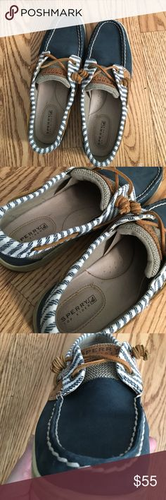 ded4f905112 Sperry Top-Sider boat shoes Worn only a small handful of times these are  virtually new Sperry Top-Sider womens shoes.