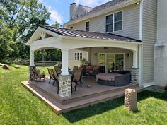 Outdoor Rooms, Outdoor Living, Outdoor Patios, Outdoor Kitchens, Covered Patio Design, Covered Deck Designs, Backyard Covered Patios, Covered Porches, Arquitetura