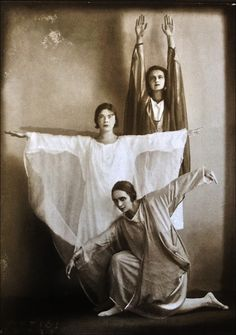 Anton Josef Trčka (1893-1940)  Danseurs du groupe Eurythmie, 1926, by Monika Faber, Museum Baden-Baden, 1999