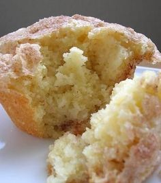 Snickerdoodle Muffins // let's all just think about that for a moment