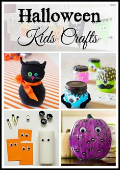 13-of-my-favorite-halloween-kids-crafts Your kids or grand kids will love celebrating Halloween by making these fun crafts.