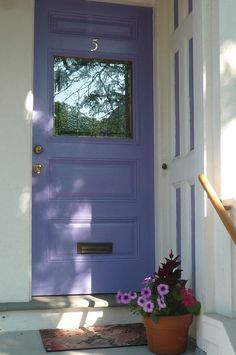 Colorful door, always.   ..rh