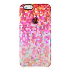 SOLD iPhone 6 Case Mosaic Sparkley Texture! #Zazzle #iPhone6 #Case #Mosaic #Sparkley #Texture #red #pink #orange http://www.zazzle.com/iphone_6_case_mosaic_sparkley_texture_iphone_case-256581181018252546
