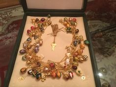 Joan-Rivers-Queen-Of-Romania-Faberge-egg-necklace-14ft-with-75eggs-charms