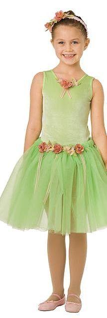 Girlu0027s Flower Fairy Ballerina Costume Lime  sc 1 st  Pinterest & 62 best Girls Halloween Costumes Canada images on Pinterest | Baby ...