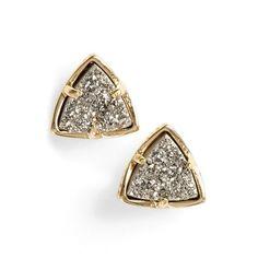 Kendra Scott 'Parker' Stud Earrings ($60) ❤ liked on Polyvore