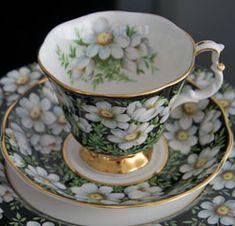 Royal Albert - Provincial Flowers - Series. NWT mountain aven. www.royalalbertpatterns.com