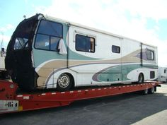 """The BIG list of U.S. RV Salvage yards is HERE! Almost every RV Facebook group and discussion board has the question asked almost DAILY: """"Where can I get ______ part for my coach; they don&#82…"""