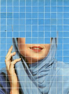 For the ongoing series 'There Must Be More To Life Than This', Canadian artist Anthony Gerace creates mysterious collages by combining vintage portraits with colorful tiles that fragment. Artistic Photography, Art Photography, Collages, Collage Artists, Draw On Photos, Canadian Artists, Art Inspo, Art Direction, Painting & Drawing