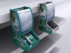 Aspirina rende-01 | MyFolio Point Of Sale, Point Of Purchase, Pos Design, Retail Design, Pos Display, Display Shelves, Displays, Wet Wipe, Shelf Design