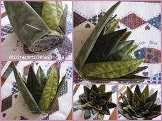 Fiori Con La S.Piante Grasse In Stoffa Cactus Fiori In Tessuto Piante Grasse