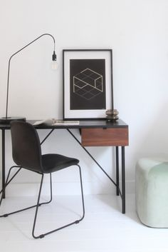 Office Desk, Home Office, Cool Inventions, California Homes, Scandinavian Design, Sweet Home, New Homes, Art Deco, Home And Garden