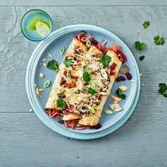 Cheesy Baked Veggie Enchiladas  Recipe   Gousto