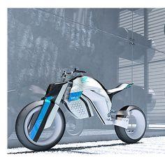 Honda EBR4 (a project wirh Vianney BRECHEISEN) by Riten Gojiya, via Behance