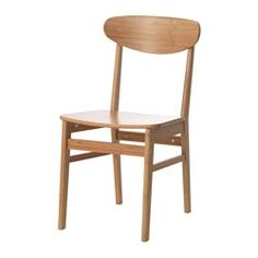 IKEA FINEDE chair Made of bamboo, which is an easy-care, hard-wearing natural material.