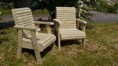 Roll Top Garden Chairs - The Wooden Workshop | Bampton, Devon