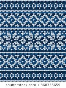 Similar Images, Stock Photos & Vectors of Seamless Fair Isle Knitted Pattern. Festive and Fashionable Sweater Design - 230600785 Jumper Knitting Pattern, Fair Isle Knitting Patterns, Fair Isle Pattern, Knitting Charts, Knitting Stitches, Knit Patterns, Embroidery Patterns, Stitch Patterns, Sock Knitting