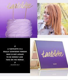CHARACTER STUDY: MAUREEN KELLY –The tarte founder discusses the palette 15 years in the making with the #Sephora Glossy>