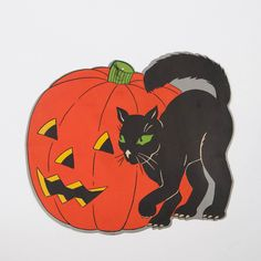 0a0dd484292 Vintage Halloween Ephemera Collection (Set of 6)