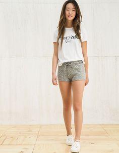 Shorts - MUJER - MUJER - Bershka Costa Rica
