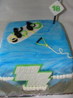 Wakeboarding Cake Wakeboarding Pinterest