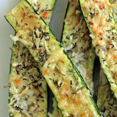 Crusty Parmesan-herb Zucchini Bites -- perfect for a side dish or an evening snack.  Will be trying these soon.  Plus, they are fix approved! #21dayfix