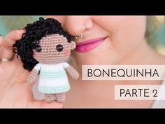 Amigurumi do Zero #31 - Bonequinha parte 2 - Como colocar cabelo em amigurumi ♥ - YouTube