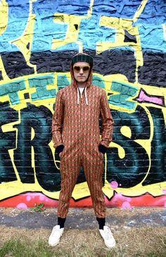 Unisex JACKFRUIT Hula Hoodie Space Invaders Black Crazy Pattern Aztec Hippy Psy Festival Fresh Prince Retro Boho Pocket Hoody Jacket