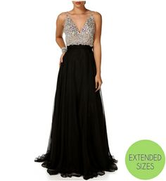 Nicolette-Black Prom Dress   If I could ever go back to prom, this would be the dress! lol