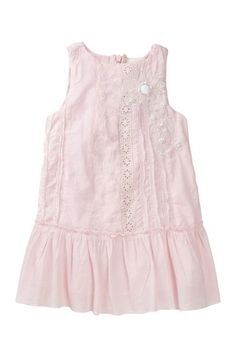 Cotton Embroidered Eyelet Flower Dress by La Piccola Danza on @HauteLook