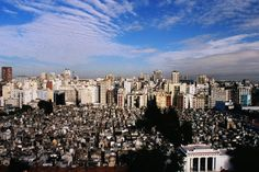 Discover the thousands of views at Recoleta Cemetery