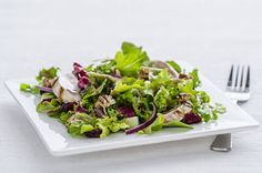 Grilled Chicken-Berry Balsamic Salad Recipe