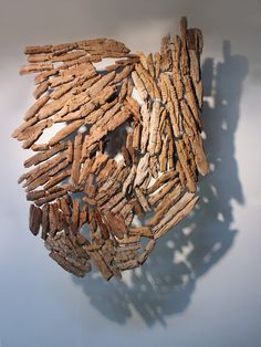 driftwood sculptures and shadows