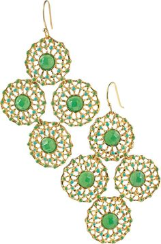 Garden Party Earrings....LOVE!