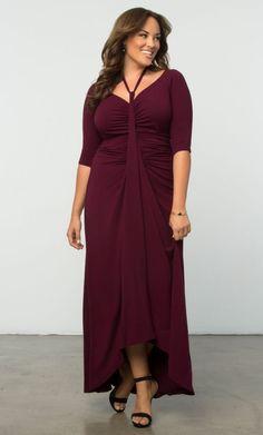 Women's Plus Size Dress | Divine Draped Dress | Curvalicious Clothes | SAVE 15% with code: SVE15