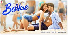 Befikre Film Trailer - Yash Raj Films, a Bollywood film company in India, unveiled Monday the trailer of its film Befikre at the Eiffel Tower, Paris.
