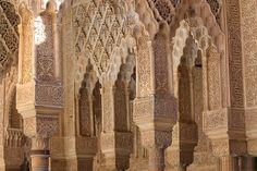 Alhambra, Spain, Granada, Window, Andalusia, Palace