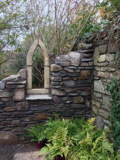 Moon Garden, Dream Garden, Garden Art, Gothic Garden, Wales Cardiff, Garden Structures, Garden Stones, Garden Gates, Back Gardens