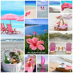 Summer Fun, Summer Time, Beach Keepsakes, Collages, Word Collage, Colour Story, Illusion Art, Pink Day, Color Of Life