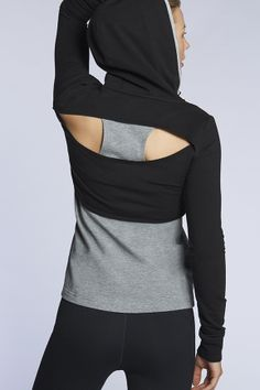Love the breather cut-out // Coiba Jacket - Fabletics. Truly athletic, yet sexy.