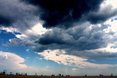 #Sardegna #mare #spiaggia #nuvole #temporale #sea #beach #clouds #storm