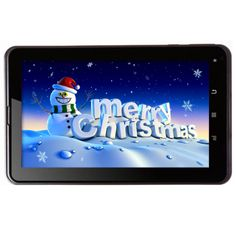 Hot Offer for X'mas buy online 7 Inch Dual Core Android 4.1 Jelly Bean Tablet PC