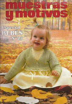 "Photo from album ""Especial Bebes on Yandex. Crochet Flower Hat, Crochet Lace Edging, Granny Square Crochet Pattern, Crochet Baby, Irish Crochet, Knitting Books, Crochet Books, Knitting For Kids, Knitting Magazine"