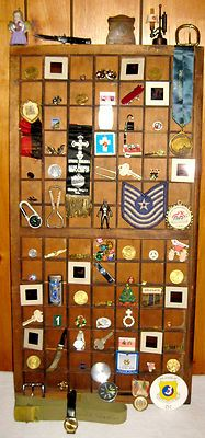 Huge Antique Vintage Collection Military Coins Knives Medals Ribbons Charms US   eBay