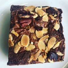 This is my favourite brownie recipe! Trust me I am a brownie queen and I have searched long and hard to just the right recipe - and this is it! Best Chocolate, Chocolate Brownies, Best Brownies, Rocky Road, Brownie Recipes, Treat Yourself, Pecan, Cocoa, Almond
