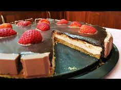 Εύκολη τούρτα φράουλα!! - YouTube Greek Recipes, Cheesecake, Strawberry, Sweets, Cookies, Easy, Desserts, Food, Youtube