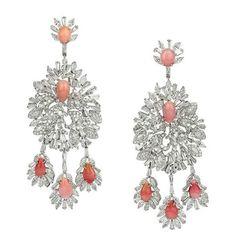 Bina Goenka who selects conch pearls to soften white diamonds
