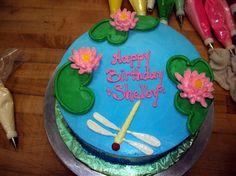 Lily pad birthday cake | Caroline's Specialty Cake Designs - Caroline's Cakes